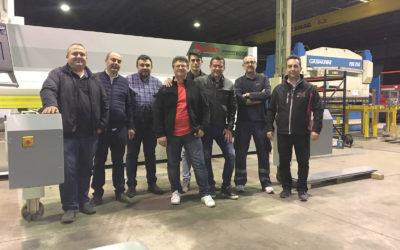 Instalación de las dos primeras Líneas de corte en Murcia