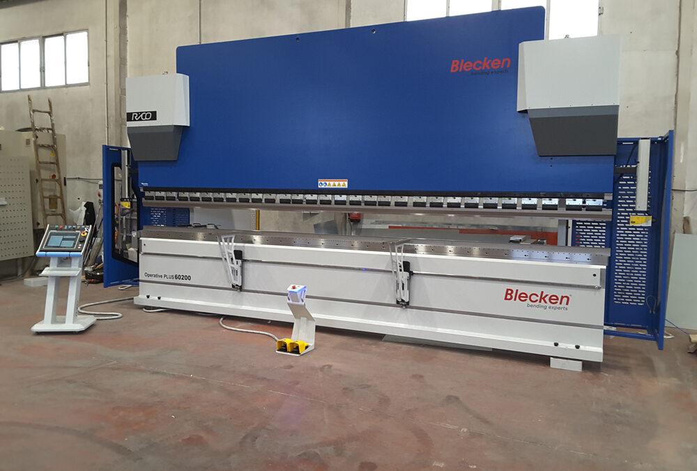 Plegadora Blecken Operative Plus 60200 instalada en Murcia