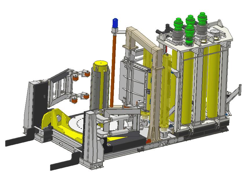 Fabricación de depósitos verticales